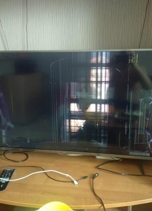 """Телевизор Xiaomi Mi TV 4S 43"""" UHD 4K (L43M5-5ARU) Разбита матрица"""