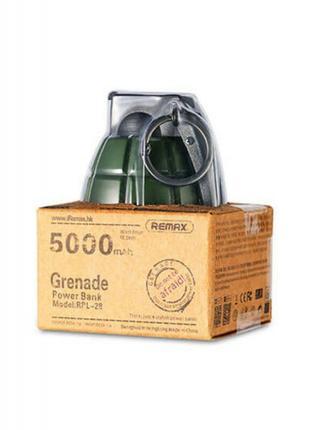 Power Bank 5000mah granate