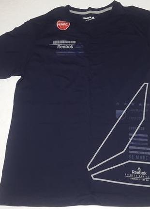 Темно-синяя футболка reebok оригинал сша