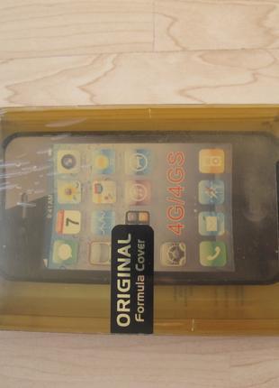 Силиконовый чехол iPhone 4