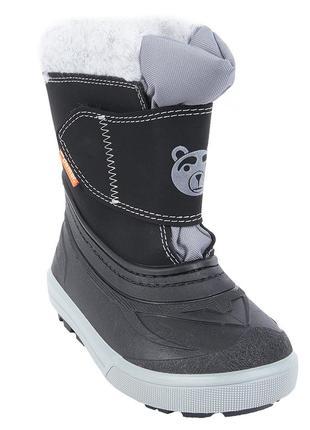 Зимние сапоги демар bear серые