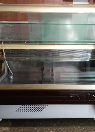 Кондитерская витрина холодильная Mawi 1,35 м.