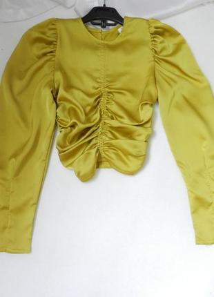 Блуза атлас