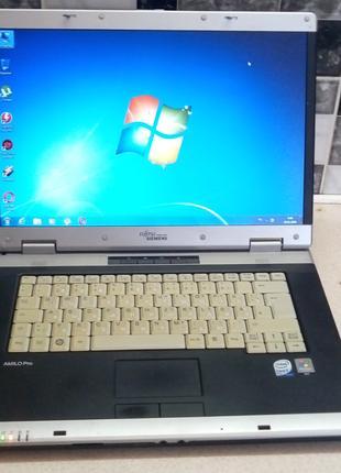 Элитный стильный ноутбук FUTJITSU PRO V8210 в хорошем состоянии