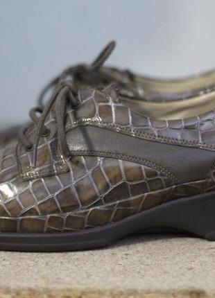 Очень красивые кожаные туфли 37-38