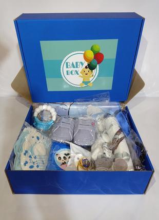 Бейби Бокс Подарок Мальчику Новорожденному На Выписку Подарочный