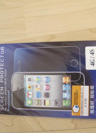 Защитная пленка iPhone 4