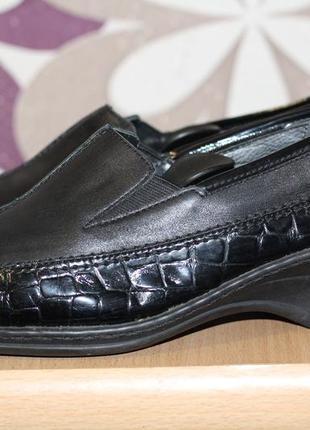 Кожаные туфли ara 38 разм