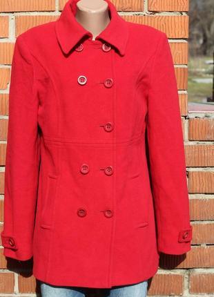 Красивое женское пальто шерсть и кашемир charisma 46-48
