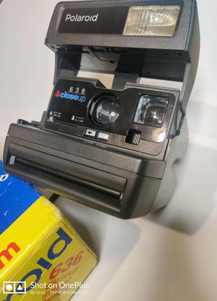 Фотоаппарат Polaroid 636 CloseUP оригинал