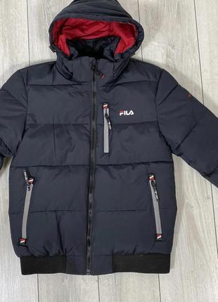 Куртка зимняя мужская Fila /48- 50 -52 размер.