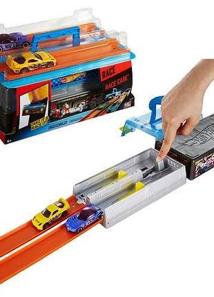 Кейс трек контейнер хранение и запуск машинок хот вилс Hot Wheels