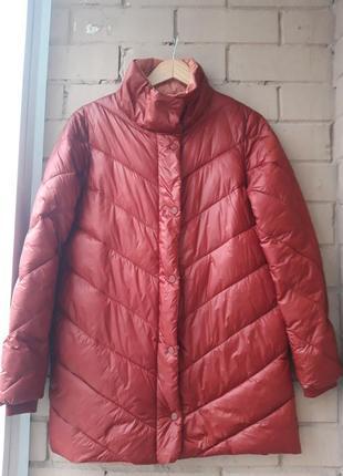 Модное балоневое пальто 2020/ дутая  курточка весна/ осень