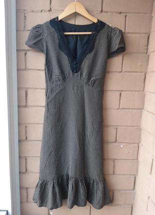 Женское платье / сарафан  с воланом