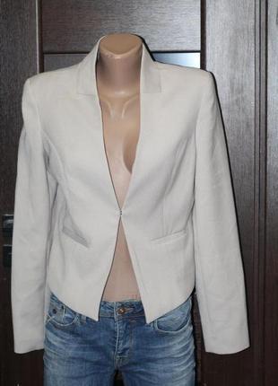 Стильный пиджак h&m 40-42