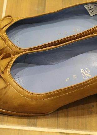 Шикарные, кожаные туфли ara 37-38