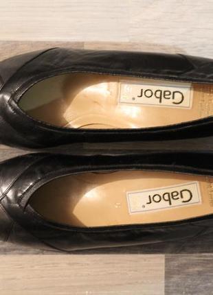 Роскошные кожаные туфли lady gabor 38-39
