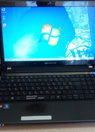 Стильный ноутбук Acer Packard Bell NEW95 в отличном состоянии