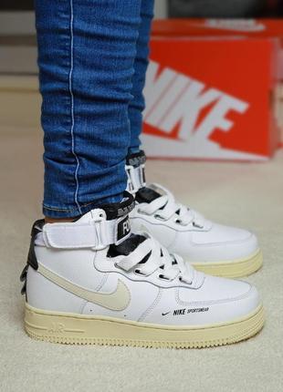 Nike air force 1 high женские кроссовки