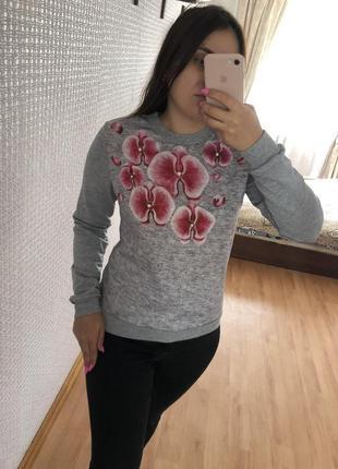 Джемпер кофта свитер пуловер реглан