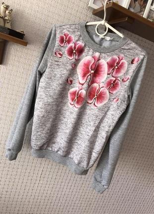 Джемпер кофта свитер реглан пуловер