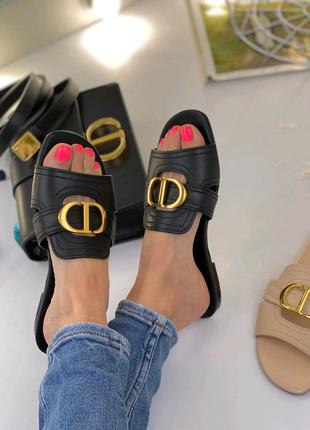 Шлепанцы Dior