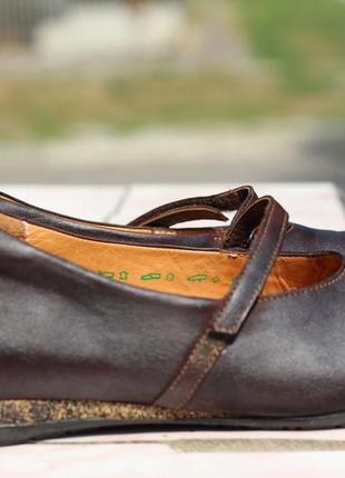 Кожаные туфли think 38-39