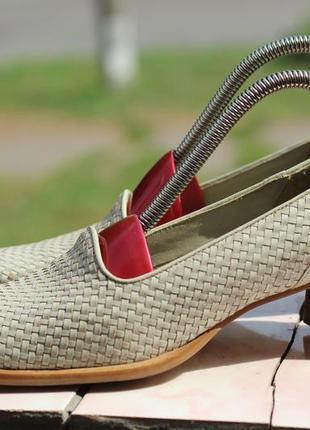 Шикарные кожаные туфли tube 37-38 бразилия
