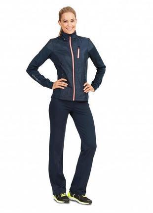 Спортивная куртка  кофта женская tchibo active (германия) 52-54