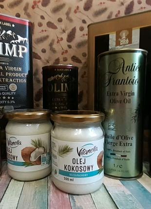 Масло оливковое кокосовое