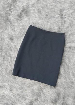 Юбка карандаш из костюмной ткани