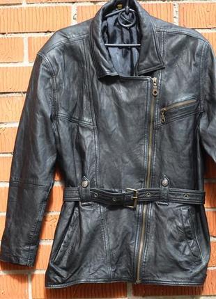 Кожаная куртка косуха 48-50