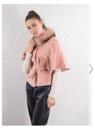 Пальто-болеро only, розовый