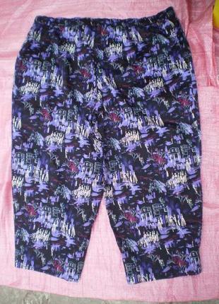 Ультра модные женские брюки большой размер 60+