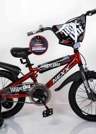 Детский двухколесный велосипед NEXX BOY 16  Красный