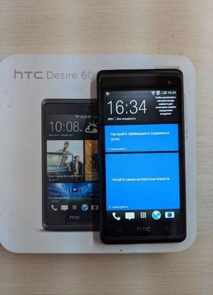 Смартфон HTC Desire 600 Dual sim Black