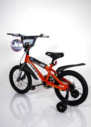 Детский Двухколесный Велосипед NEXX BOY 16 оранжевый