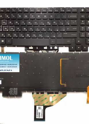 Оригинальная клавиатура для ноутбука HP Omen 15-CE series, black