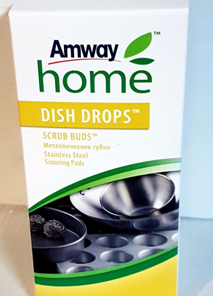 Металлические губки DISH DROPS Объем/Размер: 4 штуки