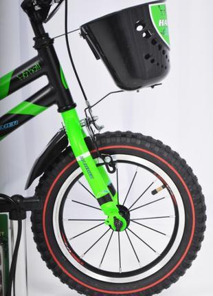 Детский велосипед HAMMER 14 S500 Колеса 14 Дюймов зеленый