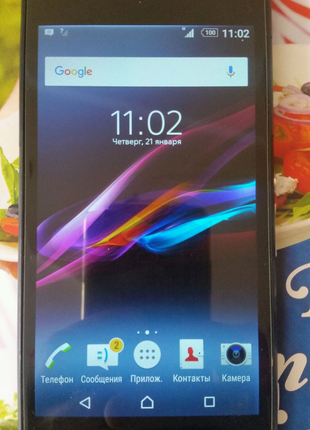 Sony xperia D6503