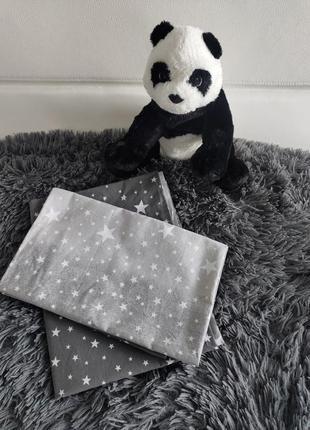 Сменный комплект постельного белья для детской кроватки звезды...