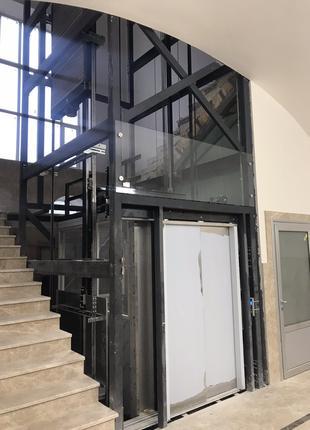 Лифтовые шахты Стримэкс сборные из металлоконструкций