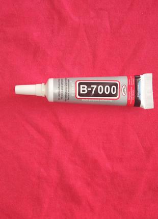 B7000 15мл Клей силиконовый тюбик универсальный прозрачный ремонт