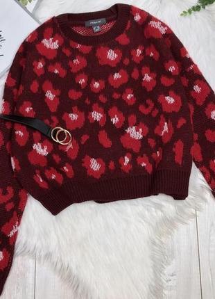 Новый с биркой свитер в анималистический принт primark размер ...