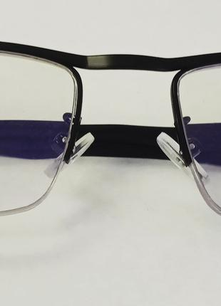 Очки для зрения в титановой оправе / диоптрия +3.5