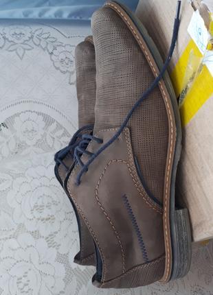Туфли мужские фирмы Riker