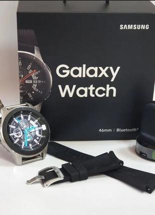 Samsung Galaxy Watch 46mm SM-R800NZSA Новые! Оригинал! Запечат...