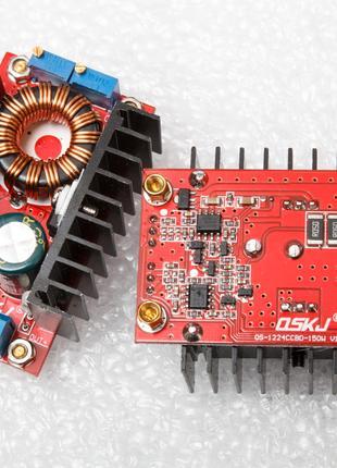 Повышающий преобразователь DC 150W регулировка напряжения и тока