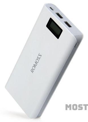 Power Bank Romoss LCD 10000 mAh Sense 6 PLUS 2USB